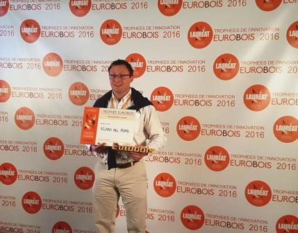 Henri Lemoine Directeur General Klaas All Road laureat EUROBOIS