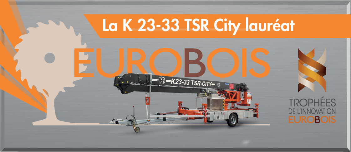 Grue tractable K23-33 TSR City : innovation et excellence