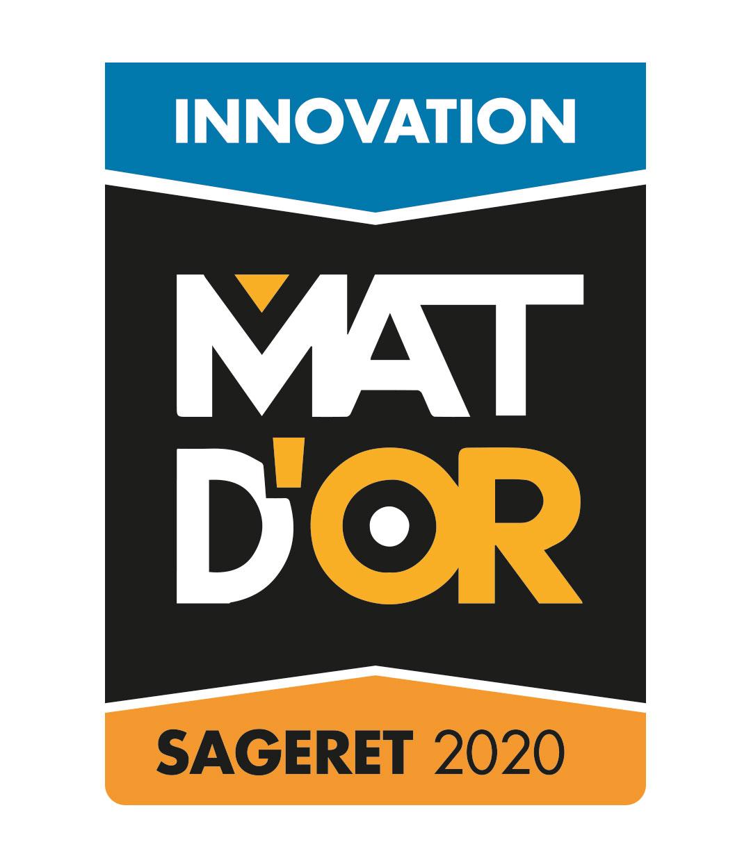 logo mat d'or sageret innovation 2020