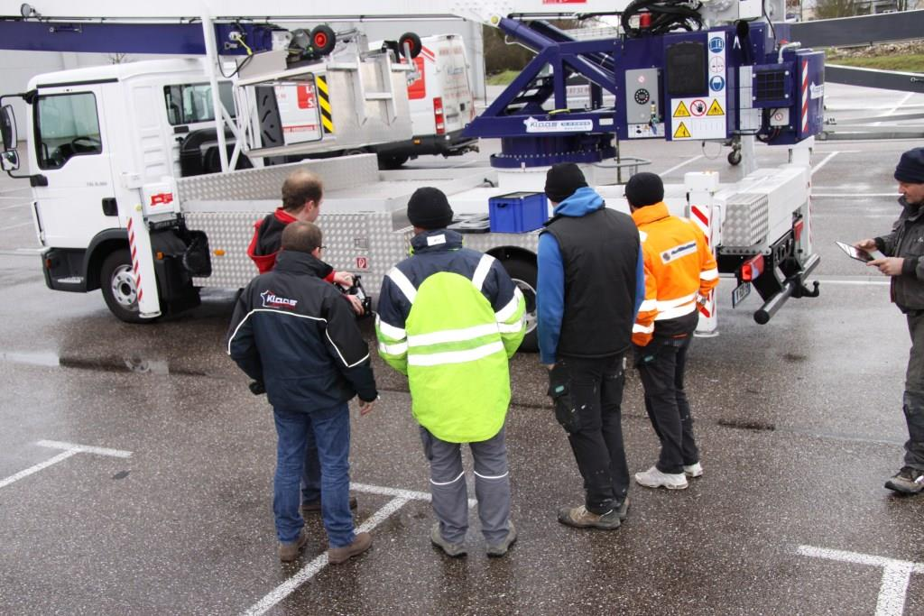 formation grue sur camion